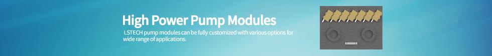 High Power Pump Modules